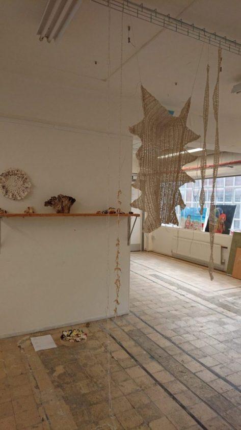 crochet work by joanne Lasmin White